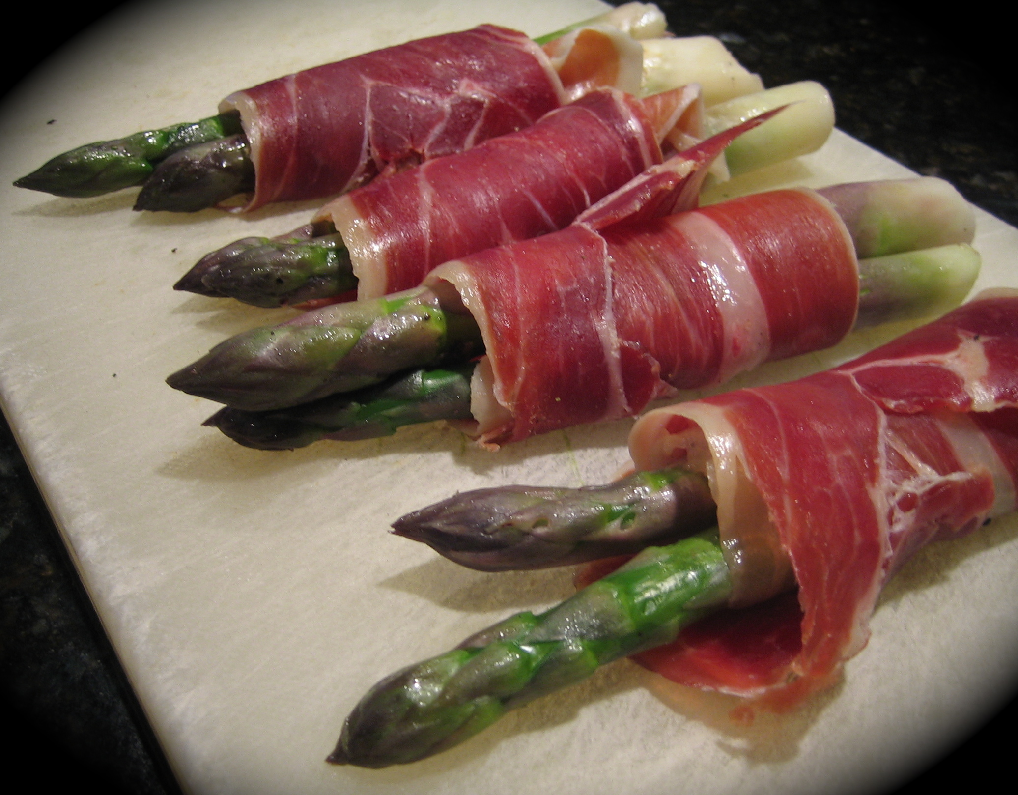 Asparagus Wrapped In Serrano Ham Recipes — Dishmaps