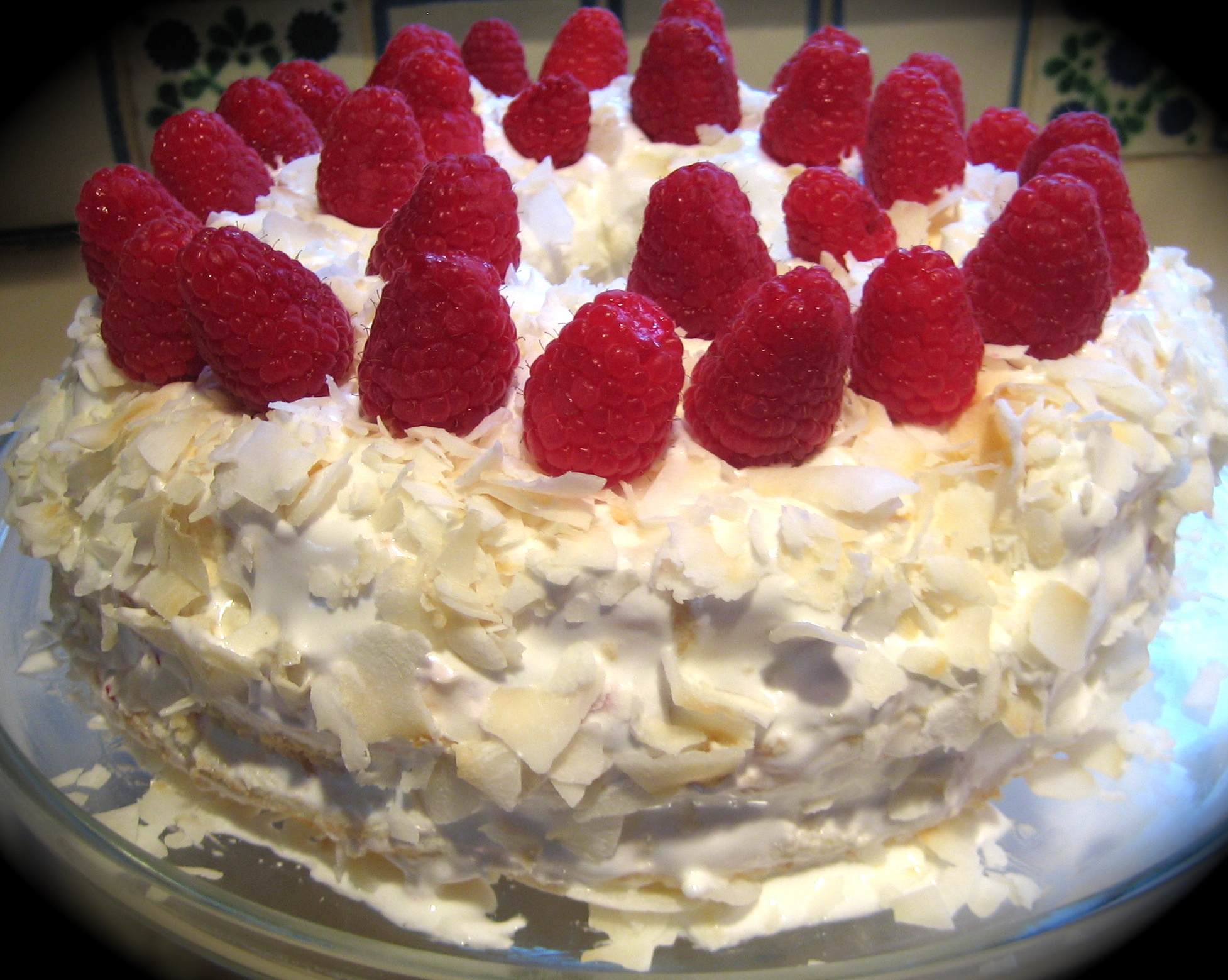 Coconut Raspberry Angel Food Cake. The Angelic Voice Of William Hut ...