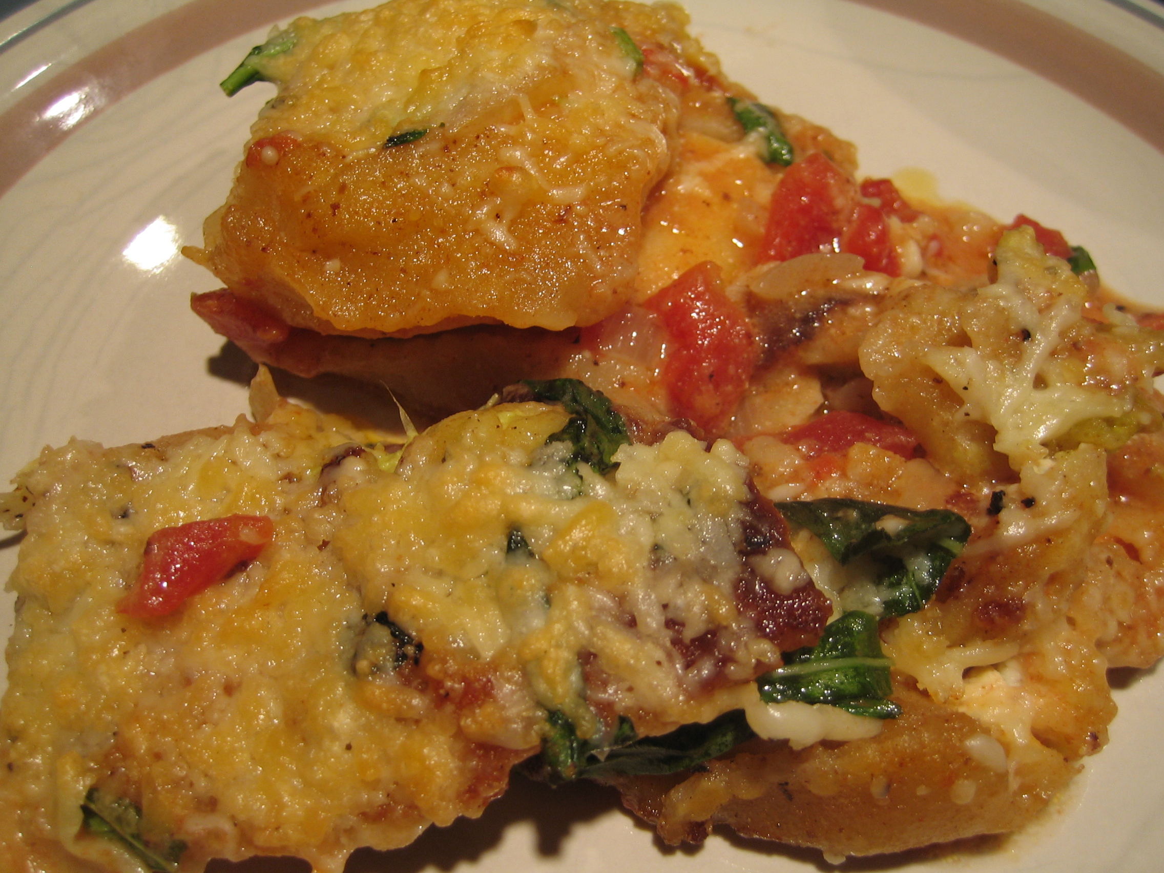 Toasted Ravioli In Tomato Cream Sauce I Sing In The Kitchen