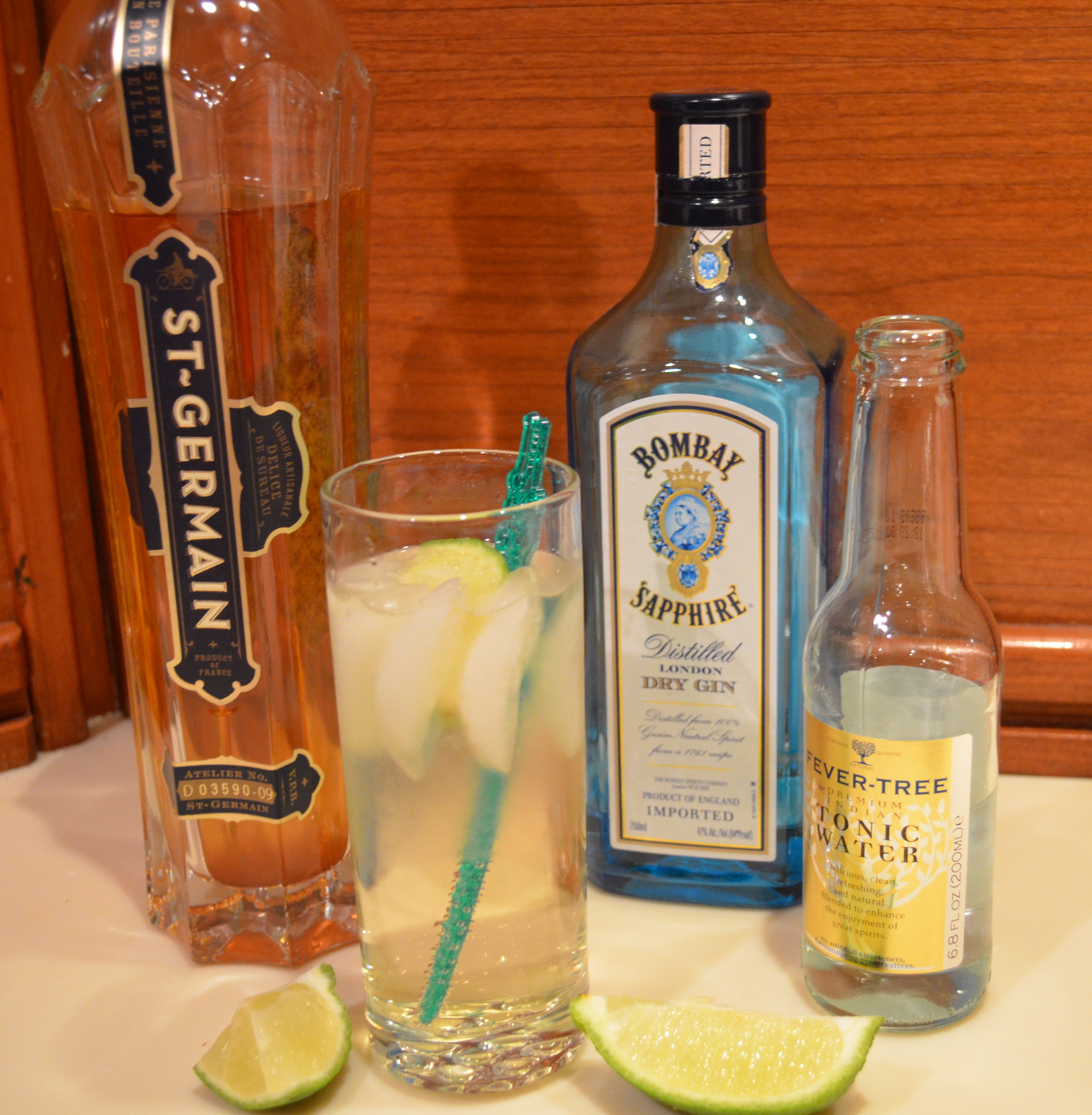 it s drink o clock st germaine gin and tonics fresca. Black Bedroom Furniture Sets. Home Design Ideas
