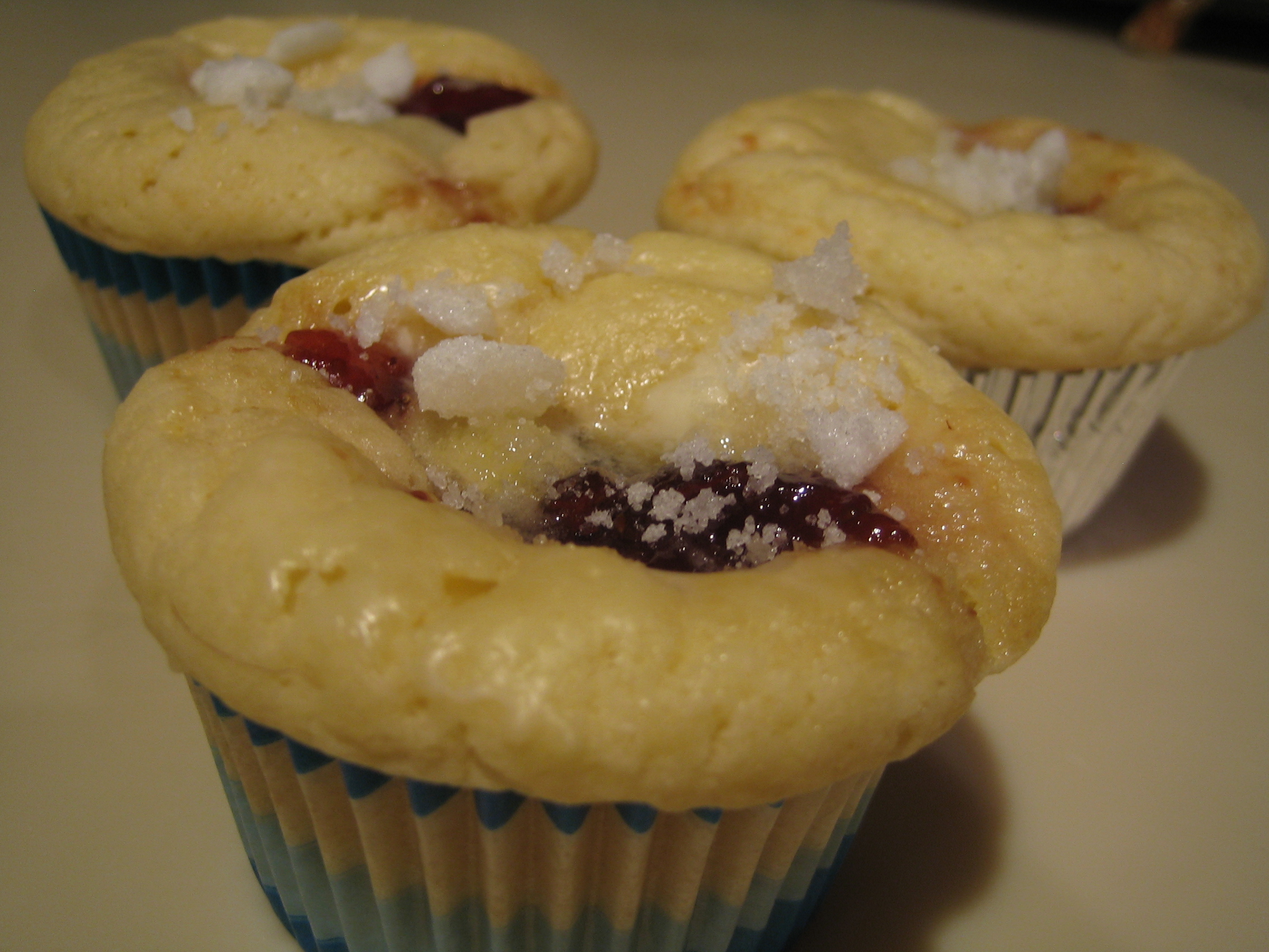 Jelly Doughnut Cupcakes have all the wonderful flavors of a jelly ...
