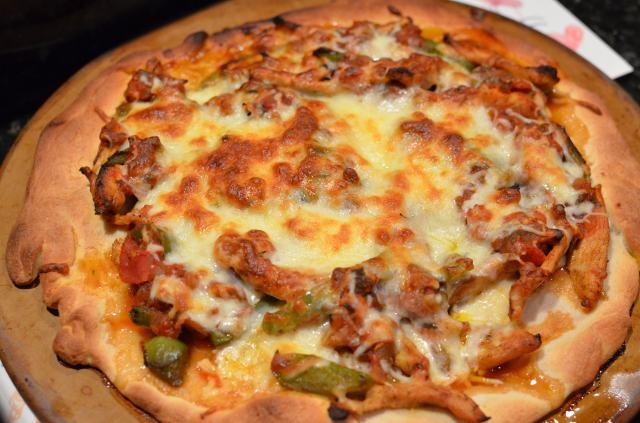 ... mushroom fajita omelette tangy fajita marinade cpk s bbq chicken pizza