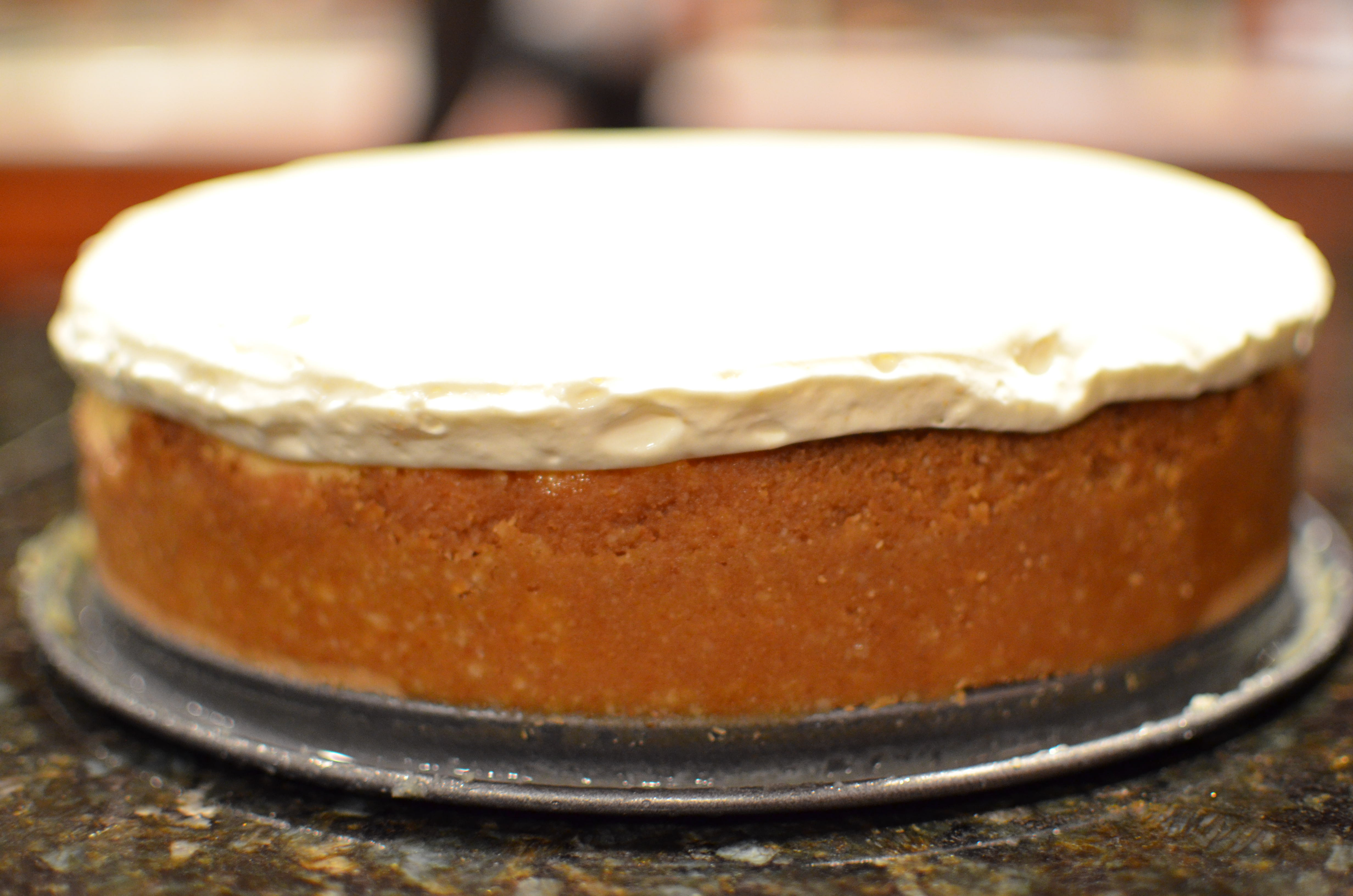 Salted Caramel Vanilla Cheesecake. Bake Yourself Silly ...