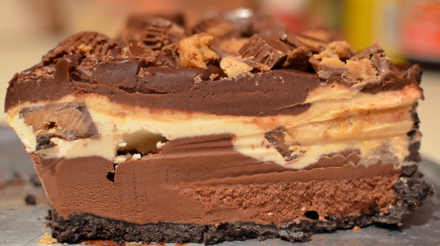 Peanut Butter-Chocolate Ice Cream Torte. Knock Knock. Who's There ...