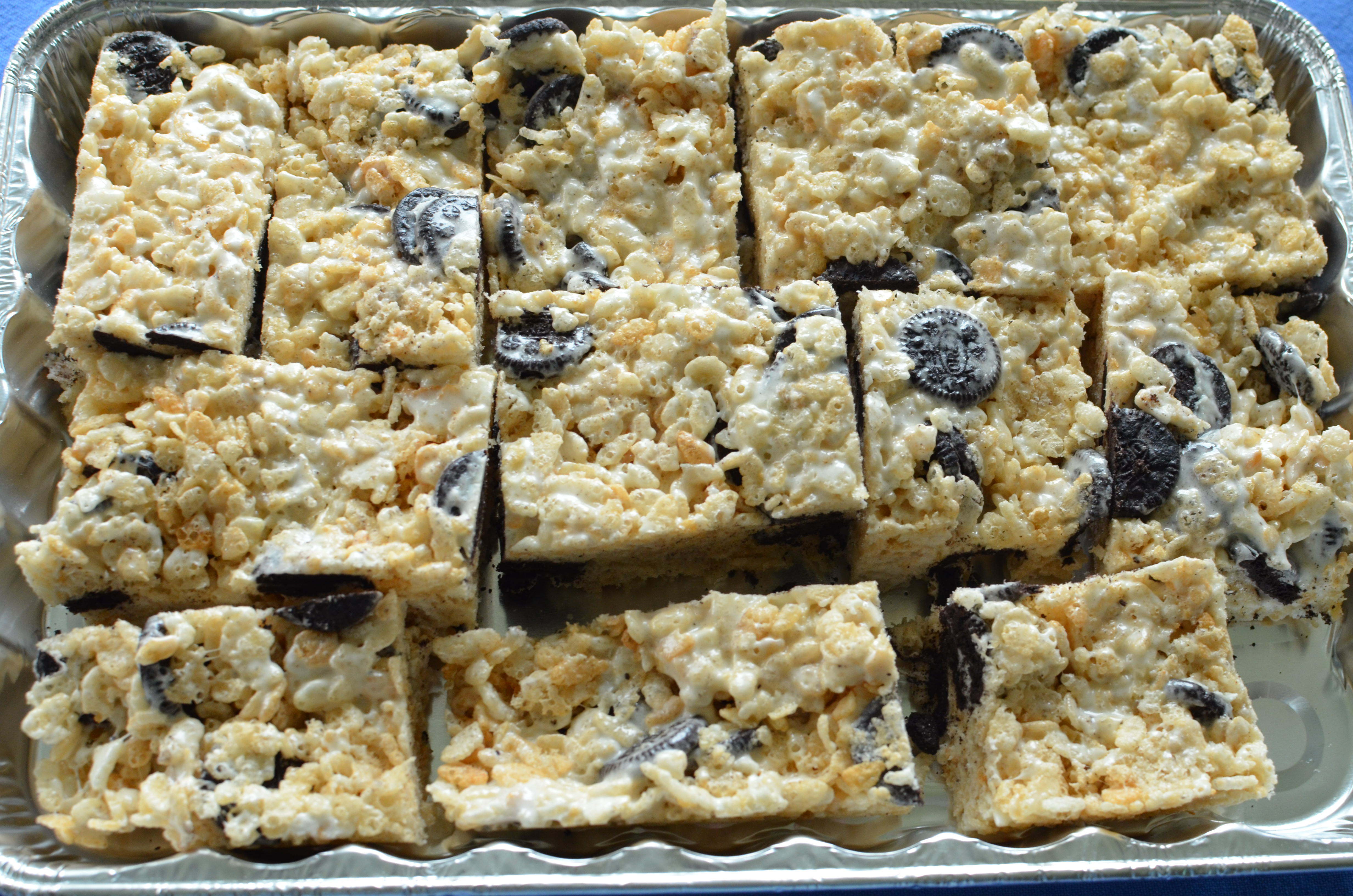 Cookies And Cream Rice Krispie Treats. New EP From The Son(s) Out ...