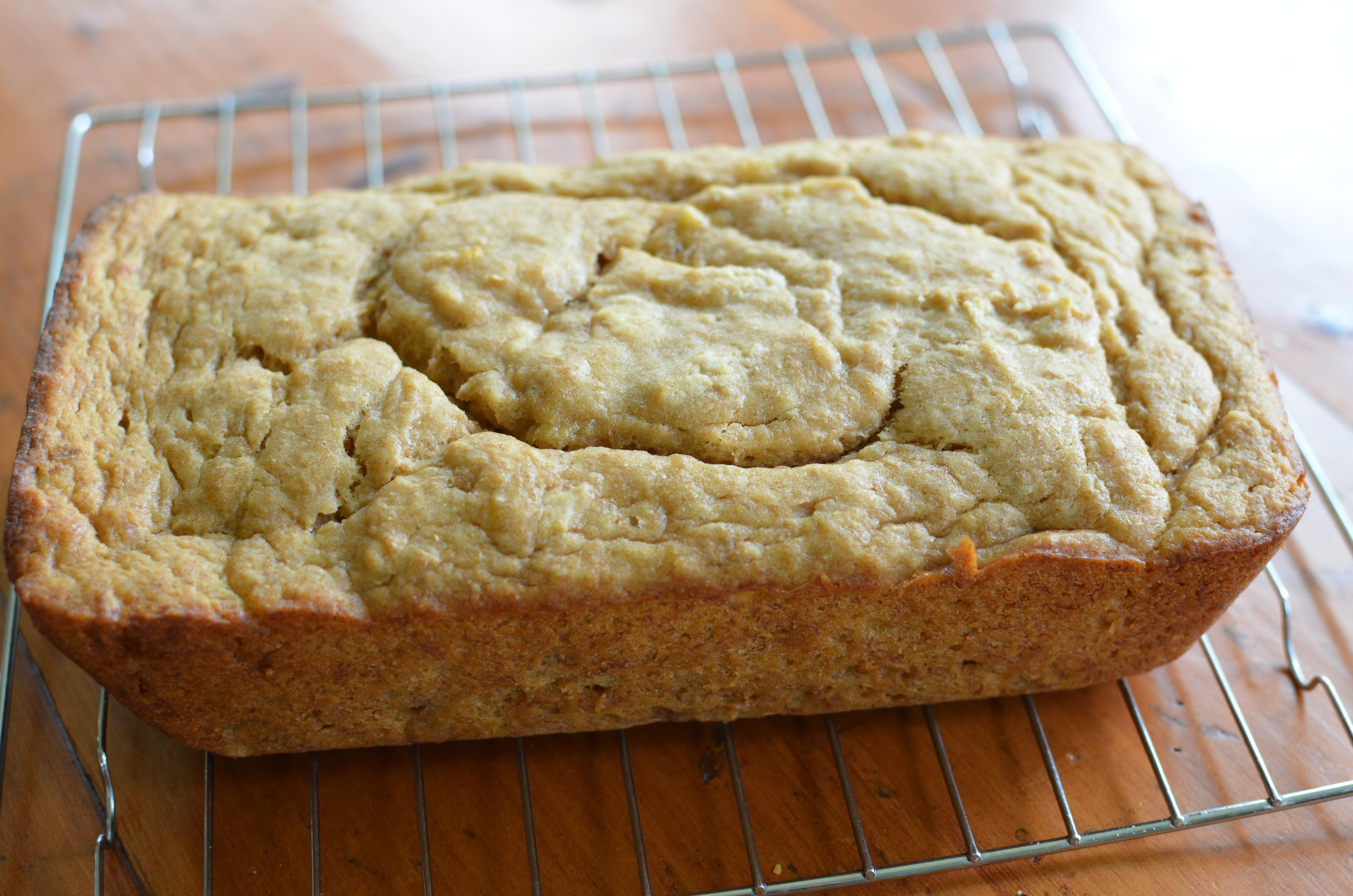 Lemony Olive Oil Banana Bread. The Fabulous Fresh & Onlys. | I Sing In ...
