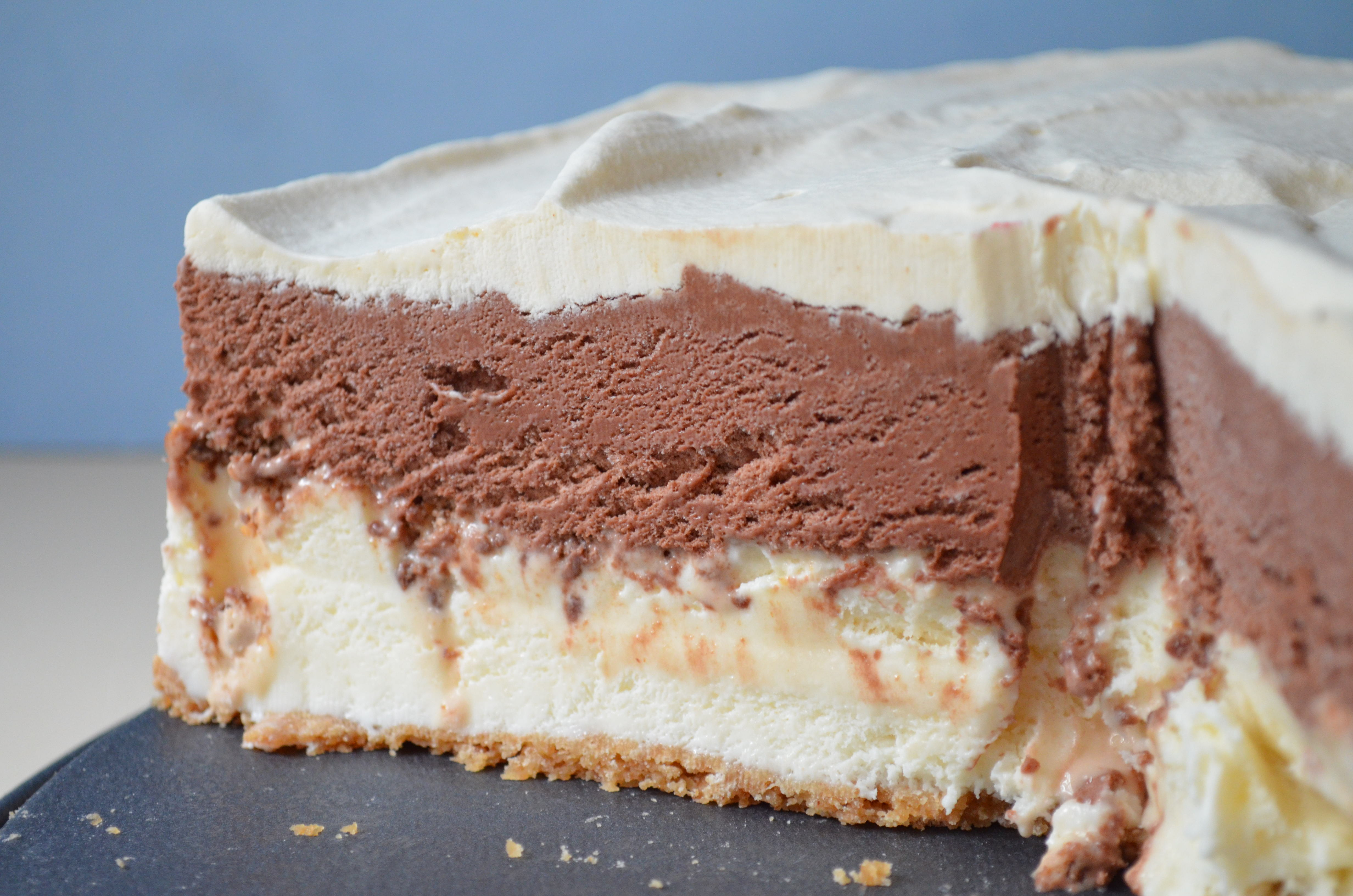 ... Crowd-Pleasing Toffee Crunch Ice Cream Cake. | I Sing In The Kitchen