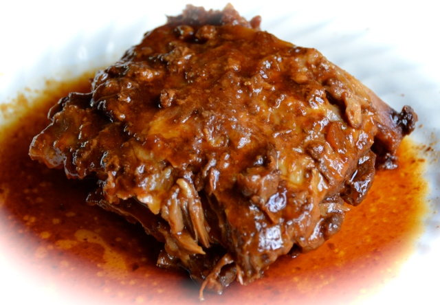 Slow Cooker Barbecued Country Ribs