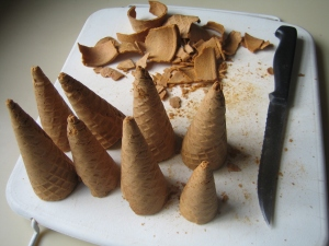 Cutting cones