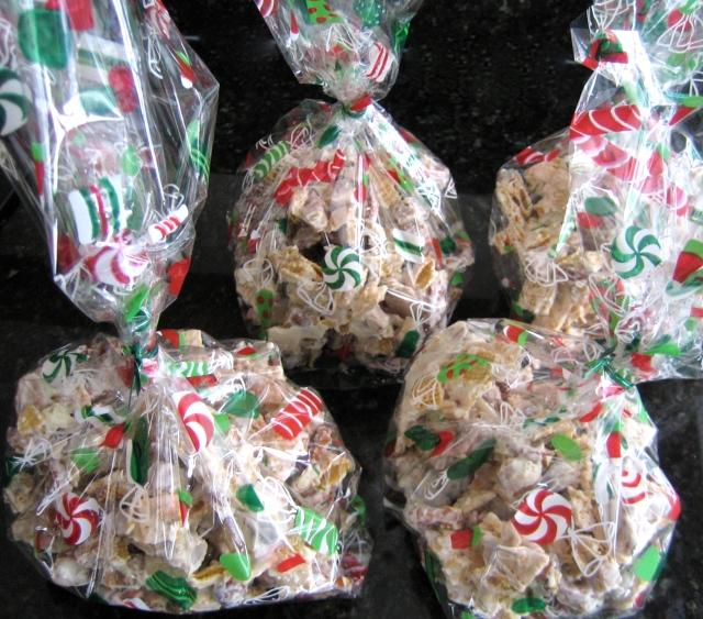 Caramel White Trash Snack Mix