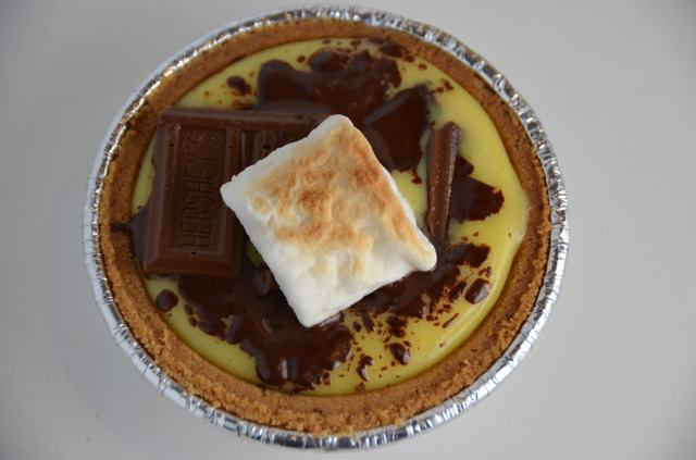 Mini S'mores Tart
