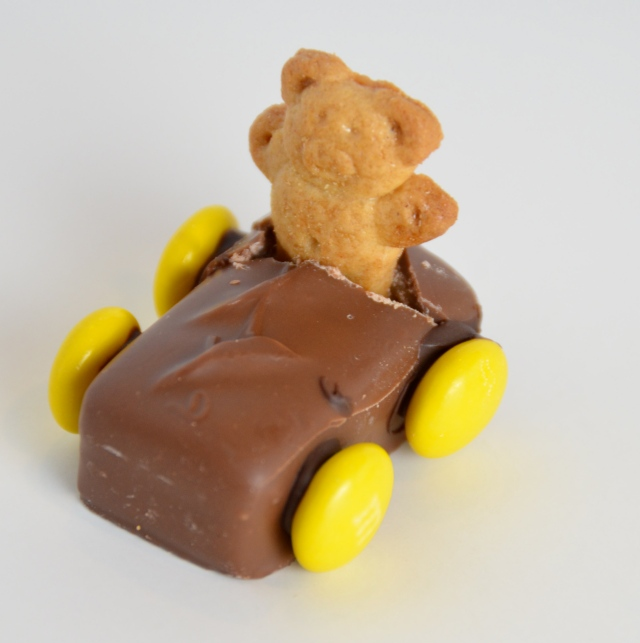 Teddy Bear Race Car
