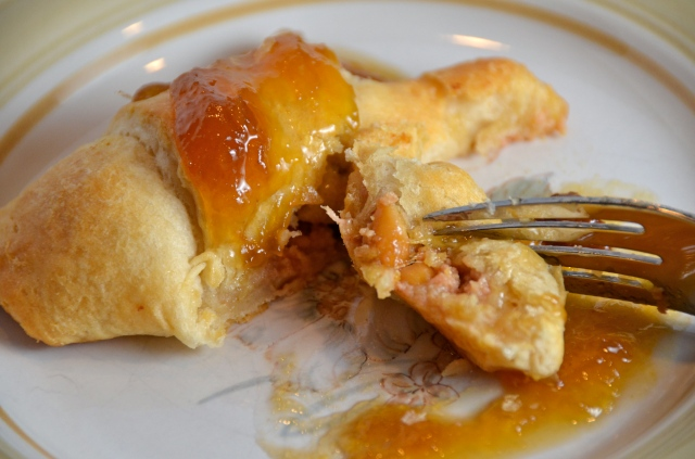 Curried Ham Crescent Rolls