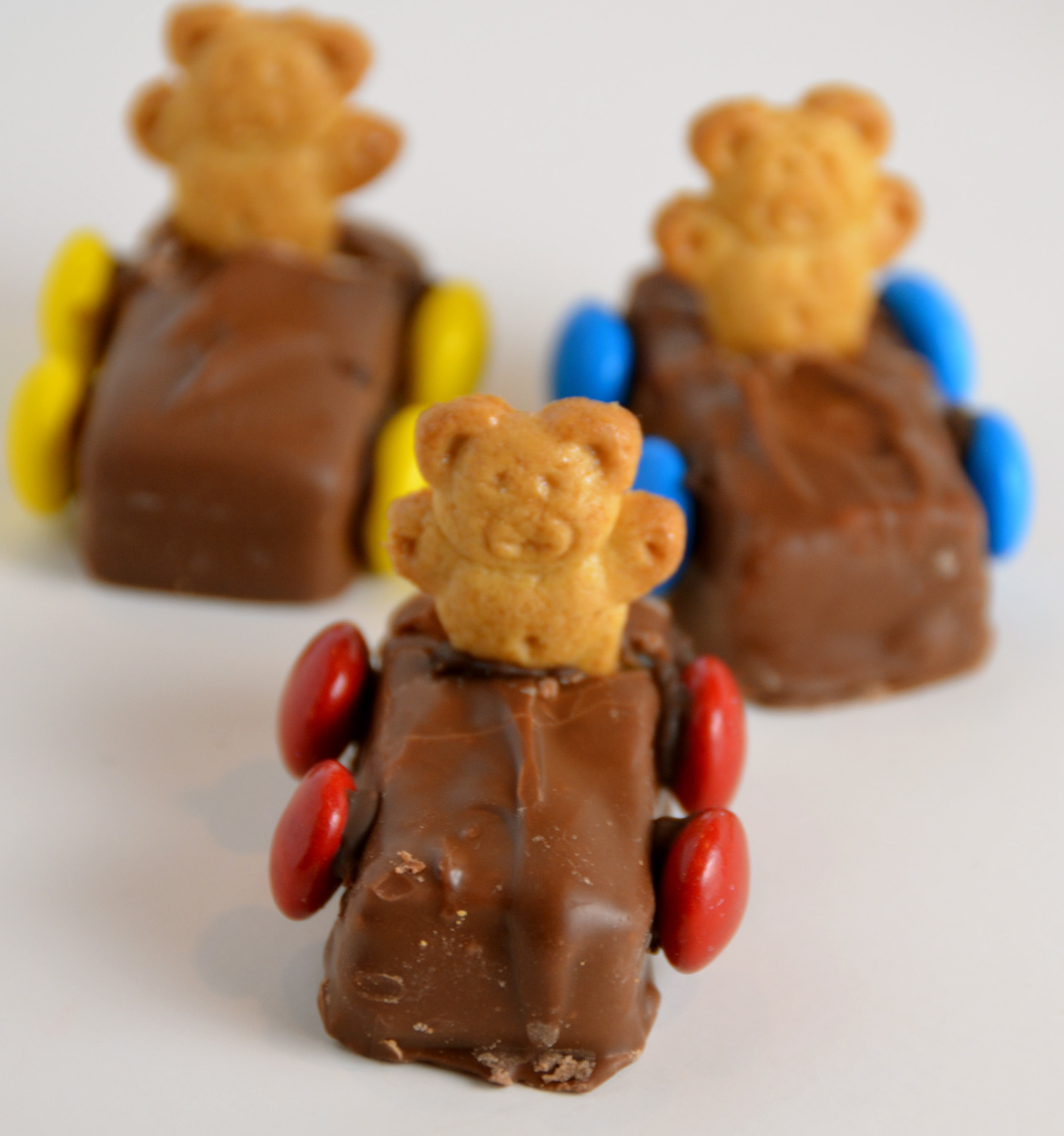 Teddy Bear Race Car Snacks