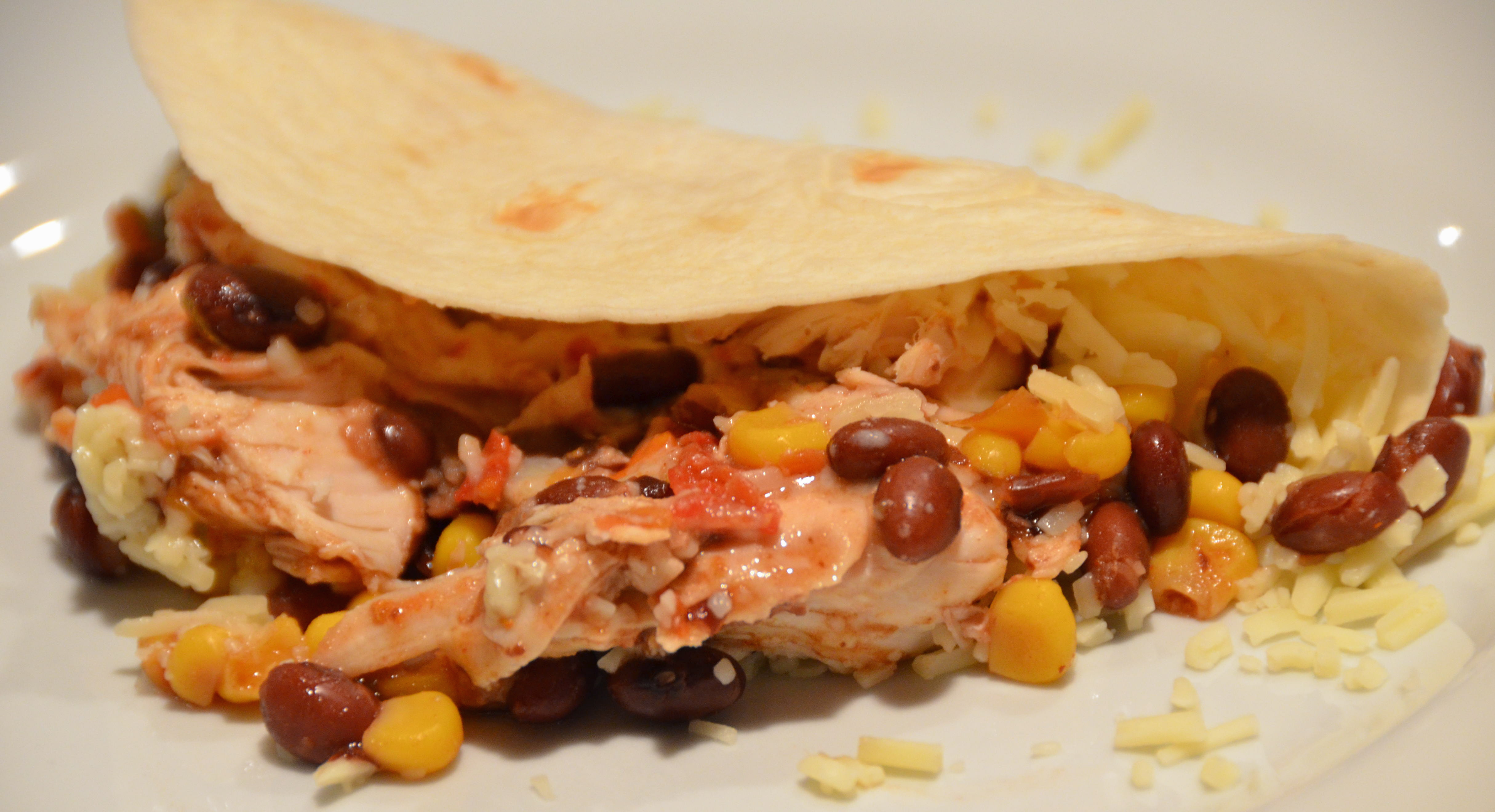 Easy Slow Cooker Chicken Santa Fe. Hot New Music From Dave Hughes ...