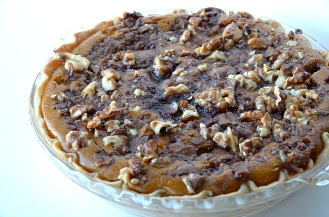 gluten free pumpkin pie with praline and coconut pecan crust praline ...