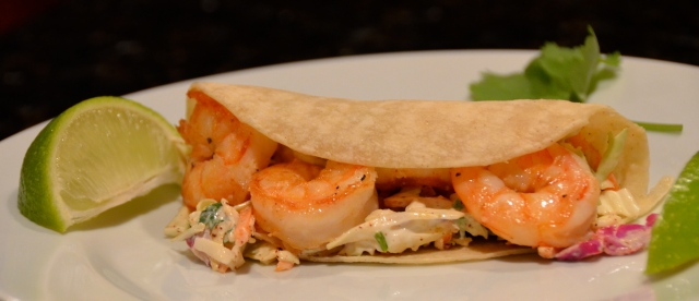Shrimp Soft Shell Tacos