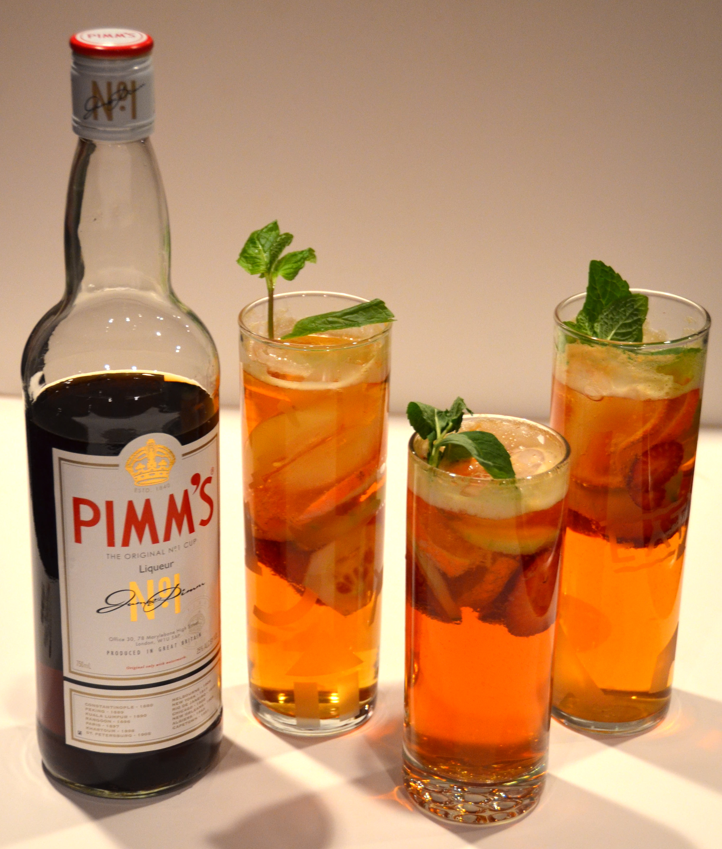 Pimm s cocktails new music from young summer i sing in for What to mix with pimms