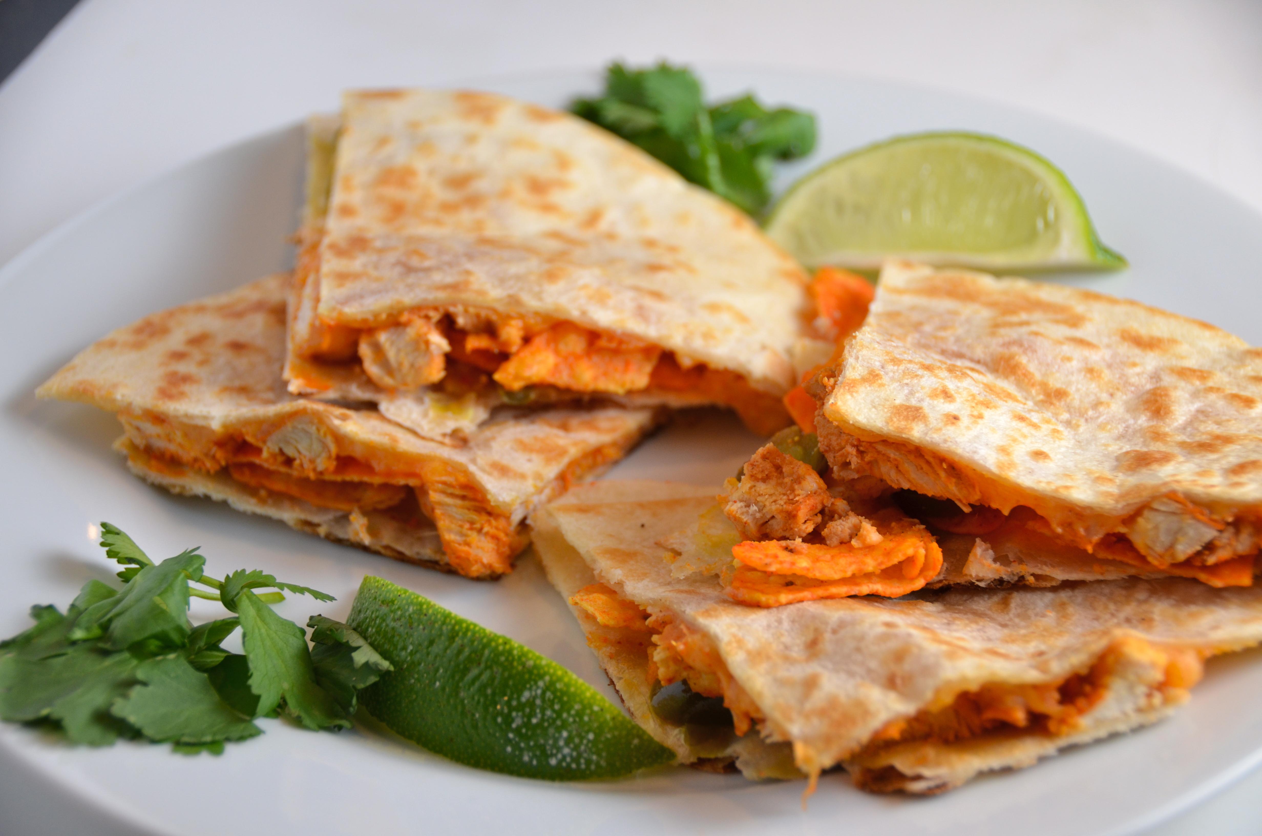 Chicken Doritos Quesadillas. Beautiful Song By ...