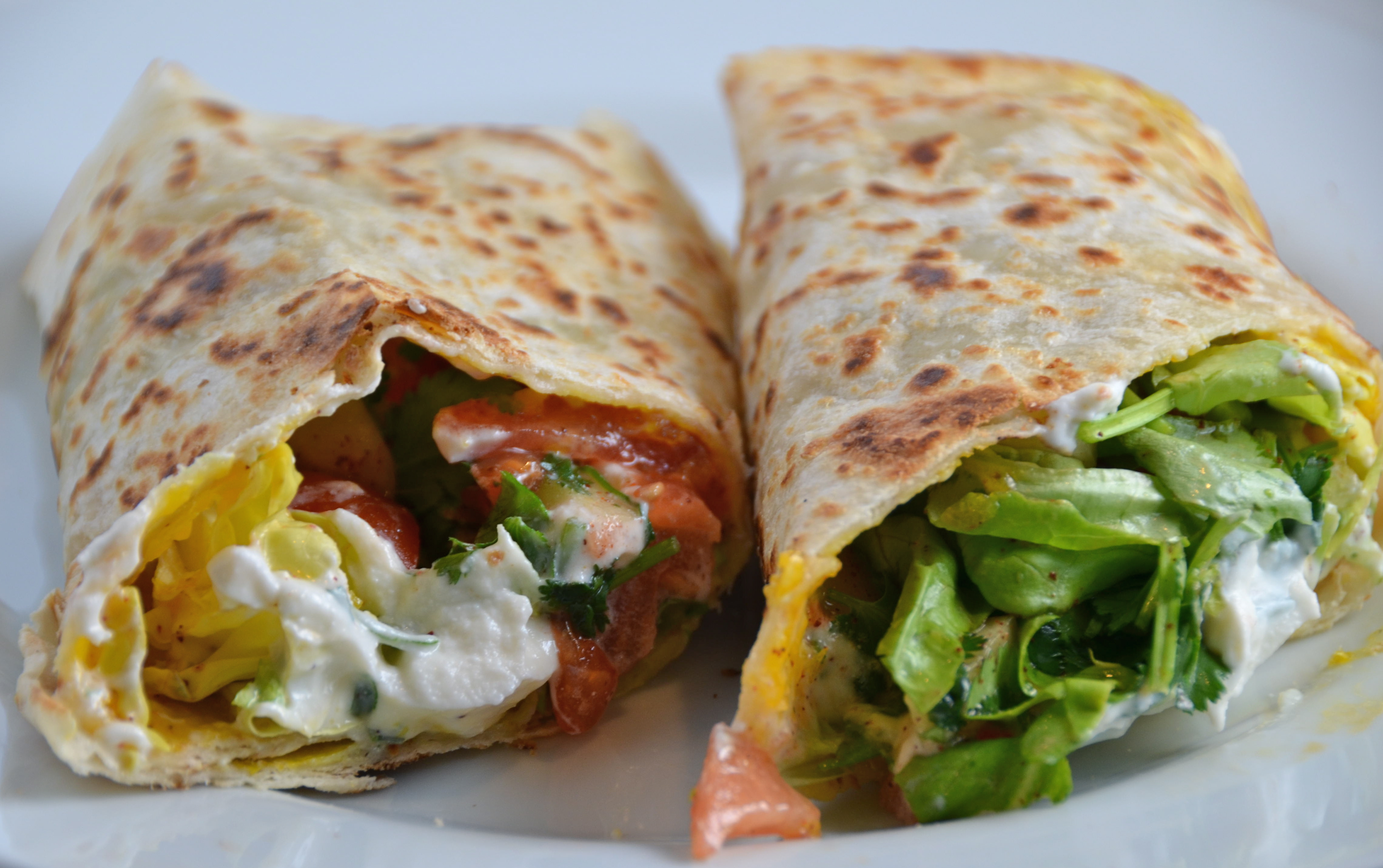 Spicy Egg Wraps. Hot New Music From Cayucas. | I Sing In The Kitchen