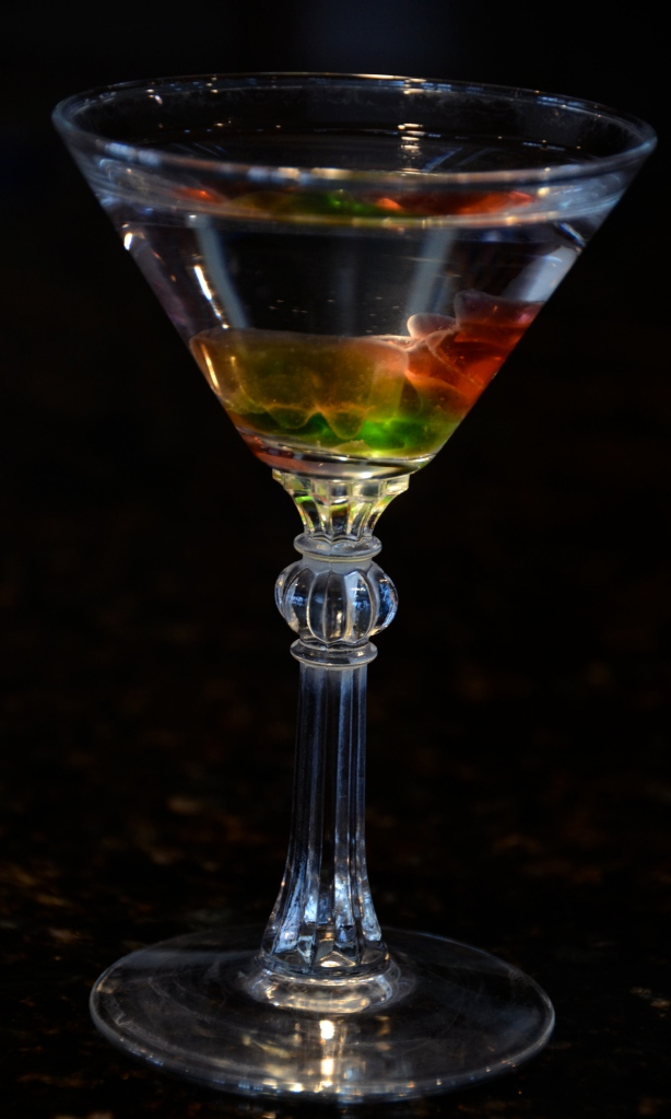 Drunken Gummy Bear Martini
