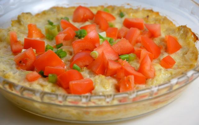 Hot Parmesan-Artichoke Dip