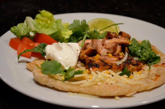 Grilled Chicken Tacos With Salsa Verde