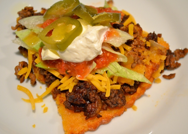 Potato Shell Taco Pie Revisited