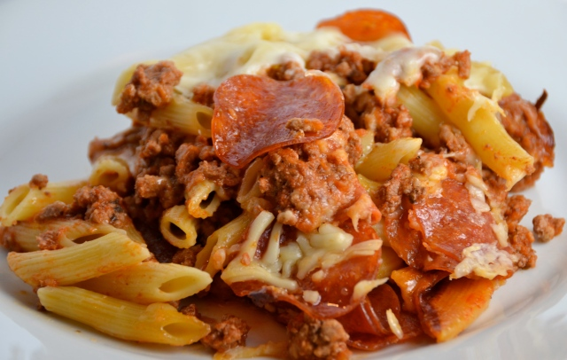 Slow Cooker Pizza Pasta