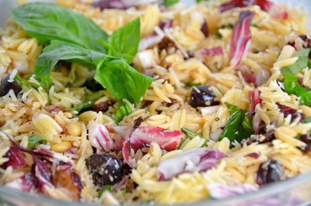 Orzo Salad With Everything