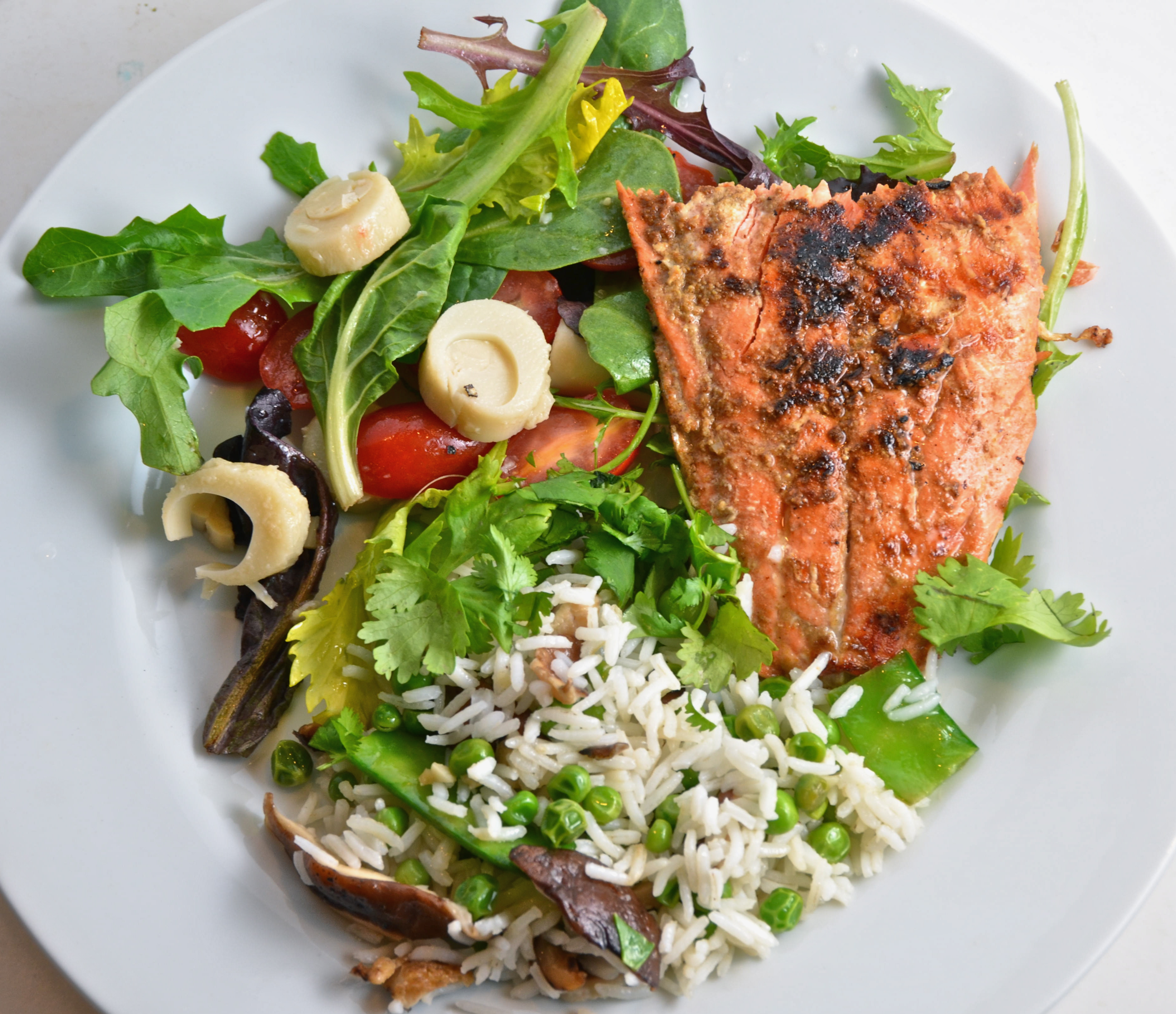 Cuban-Style Grilled Salmon With Summer Rice Salad. Fever Fever On The ...