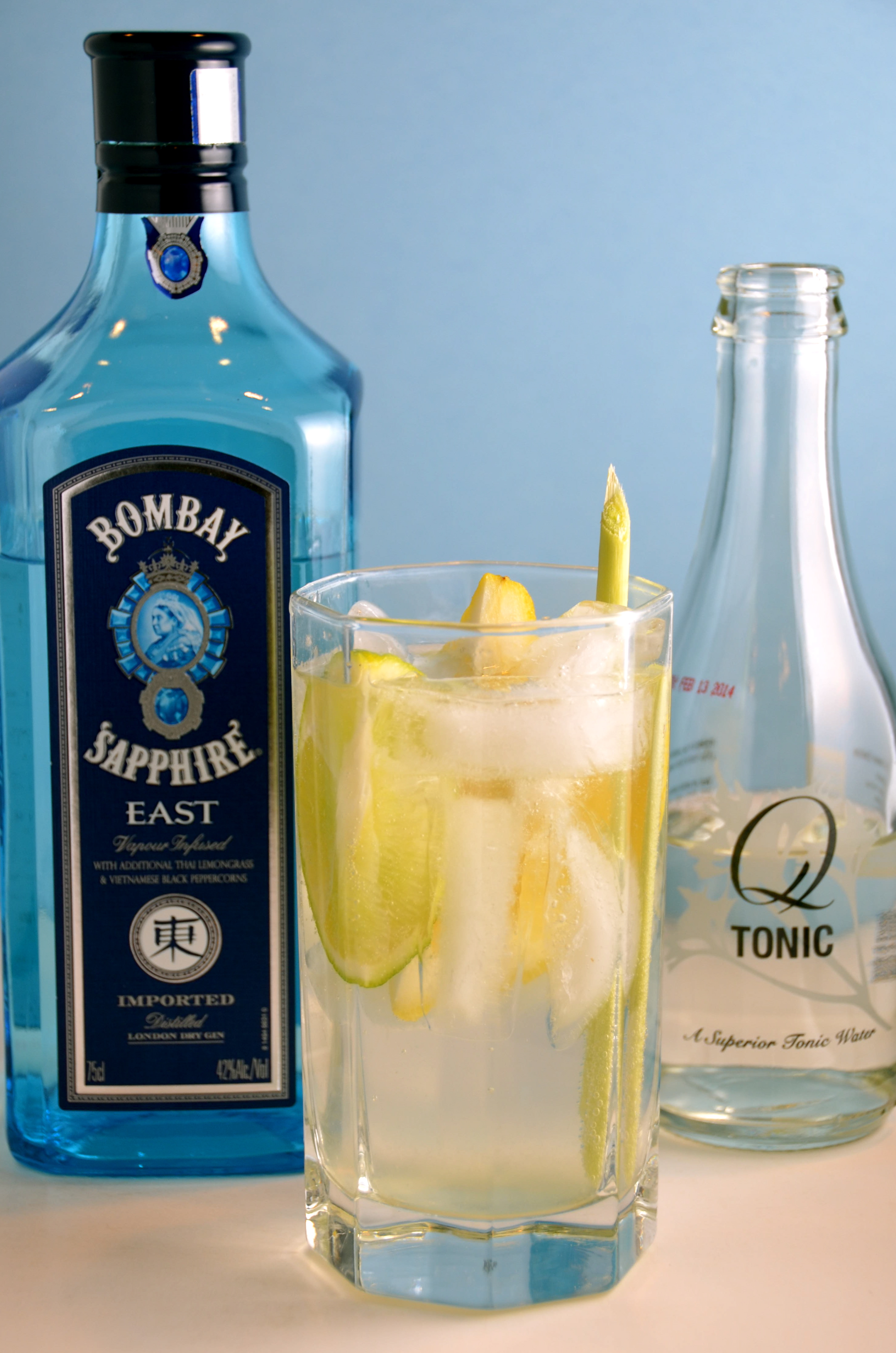 Bombay Sapphire East Gin Amp Tonic Drinking With Ben Caron