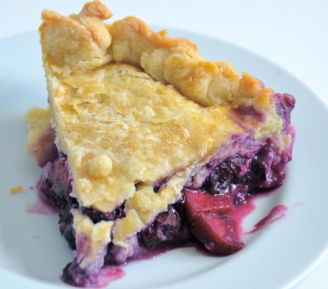 Blueberry-Nectarine Pie