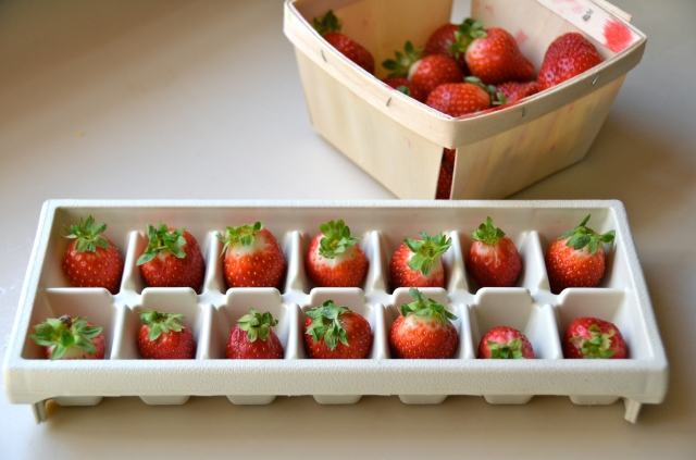 Choc covered strawberries