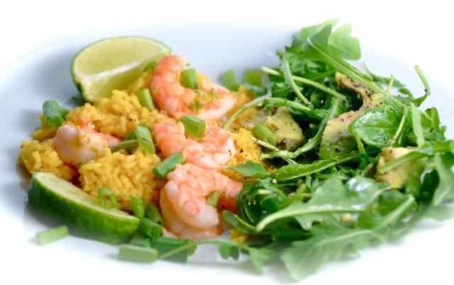 Sauteed Margarita Shrimp