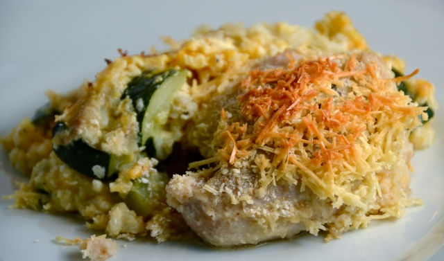 All American Chicken Zucchini Casserole