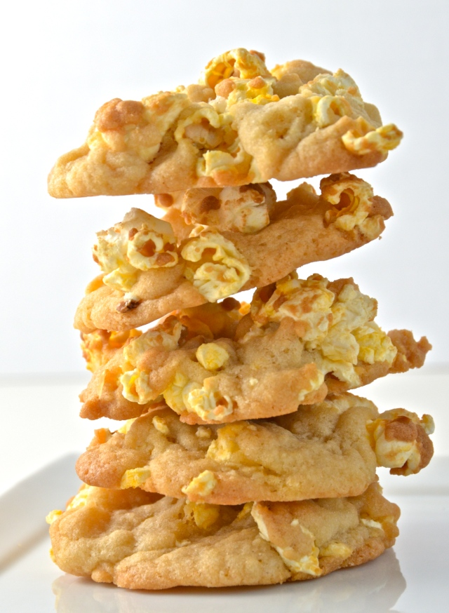 Buttered Popcorn Cookies