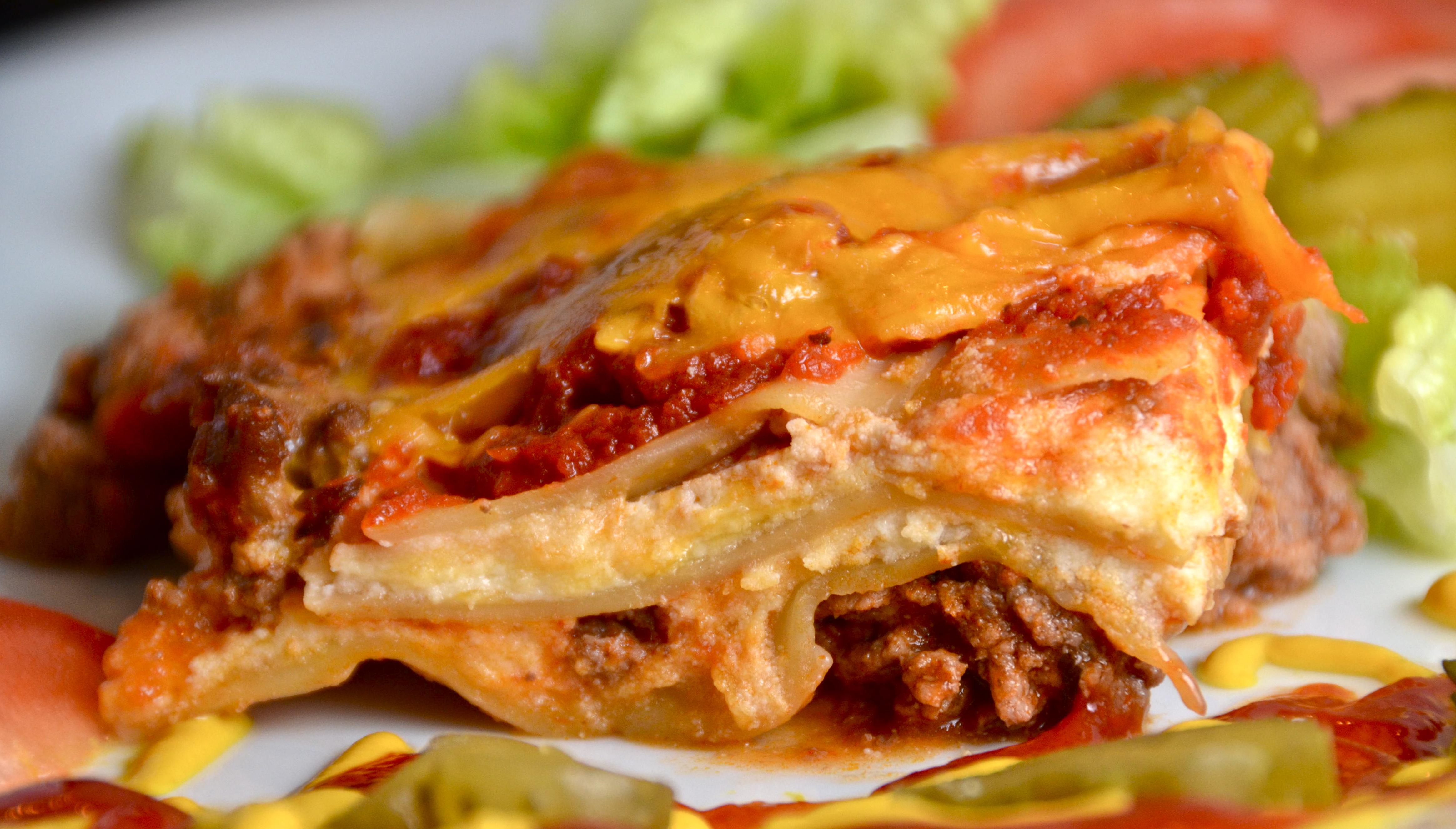 Easy Bacon Cheeseburger Lasagna Recipes — Dishmaps