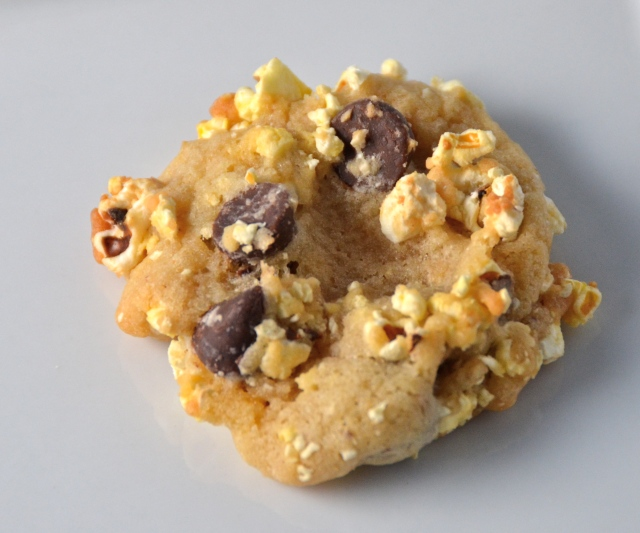Buttered Popcorn Chocolate Chip Cookie