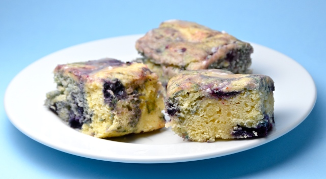 Lemon Blueberry Squares