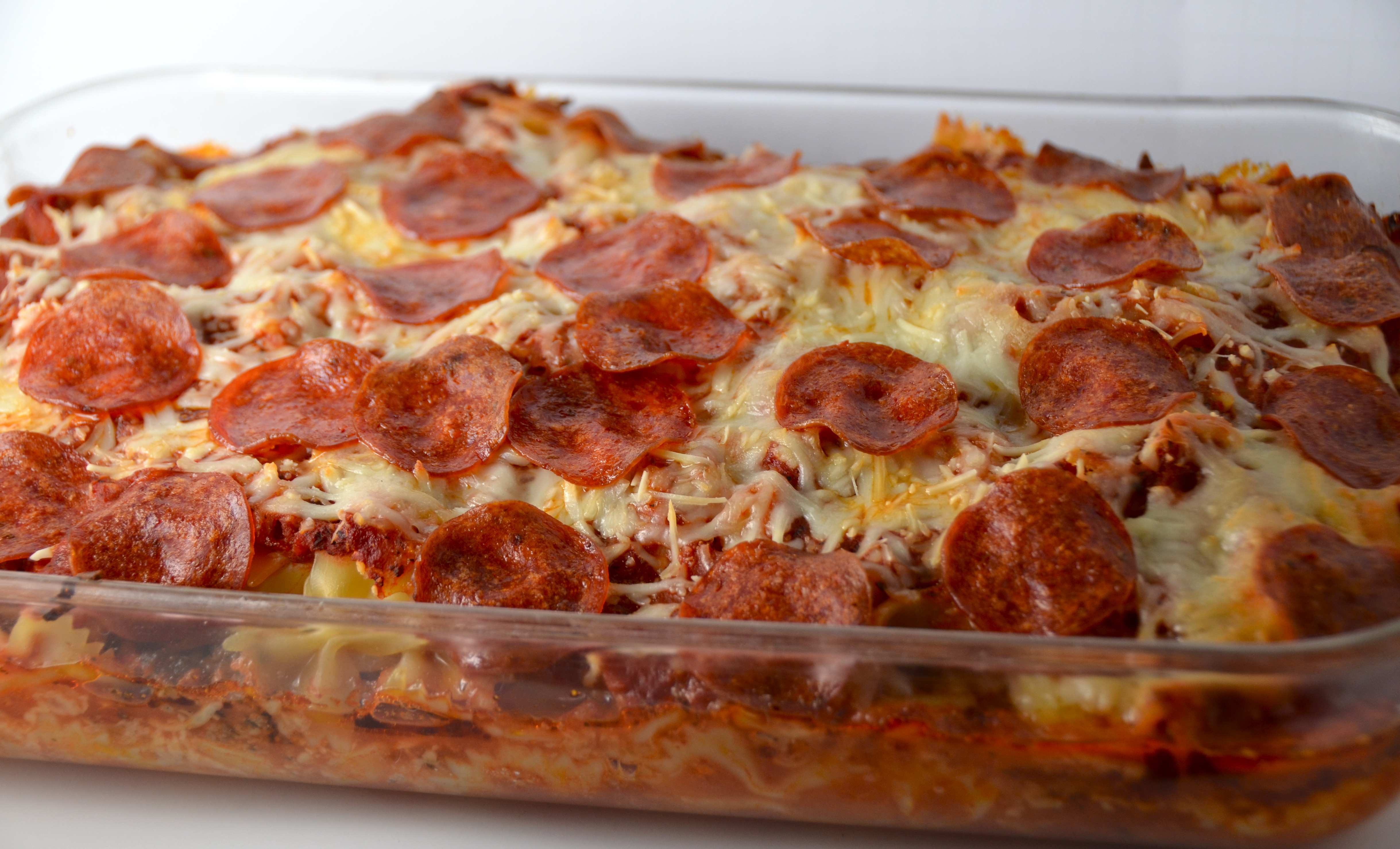 Meat Pizza Casserole. New Music From Medals. | I Sing In The Kitchen