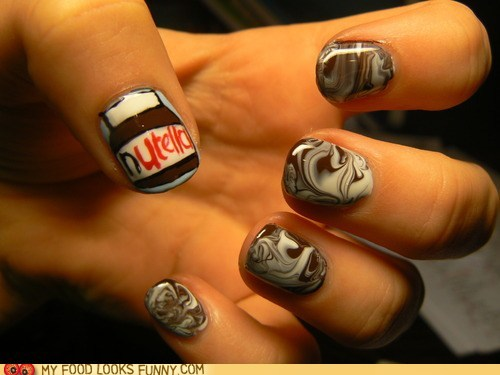 nutella nails