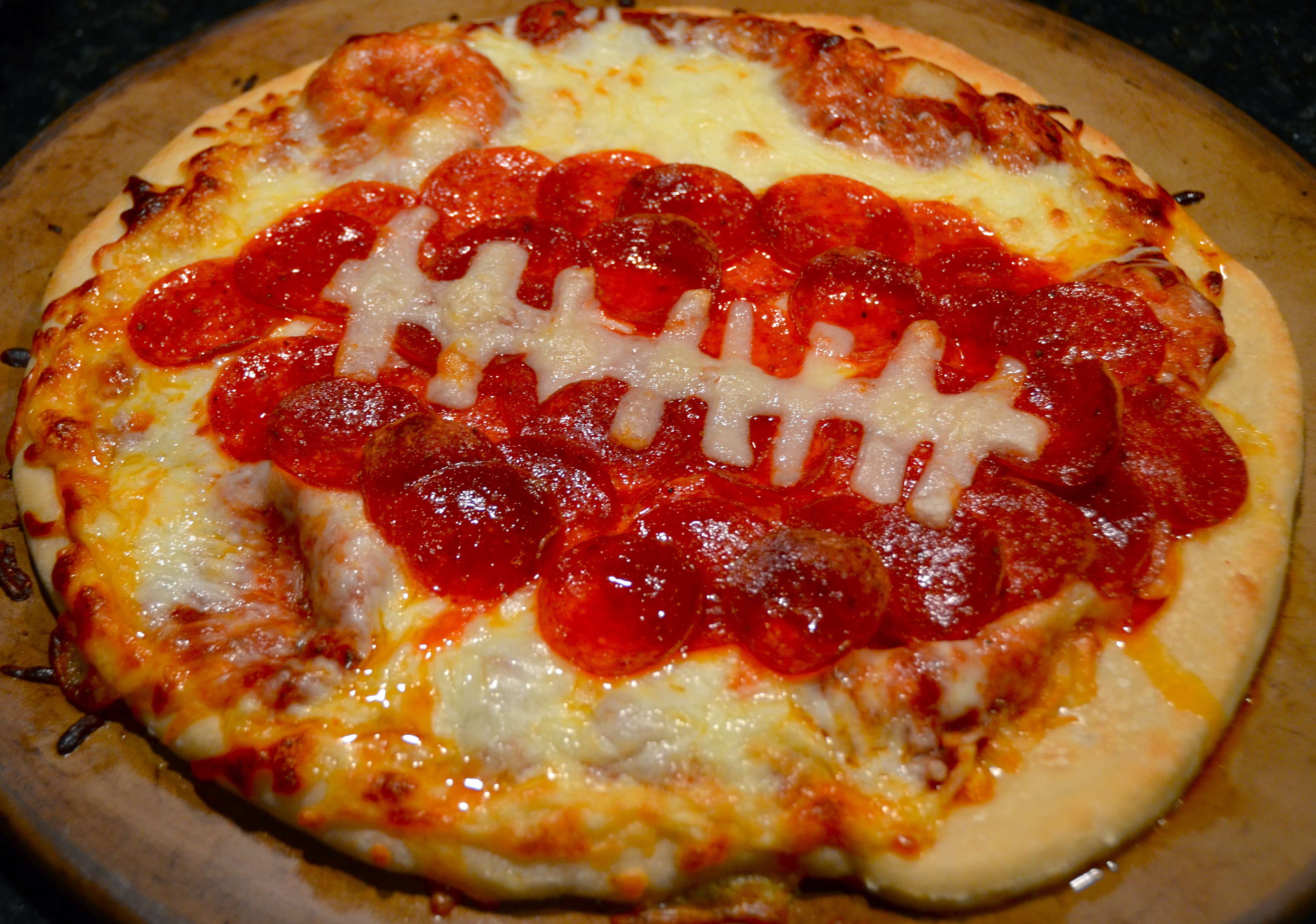 Football Pepperoni Pizza Fun New Blitz Pop From Curxes