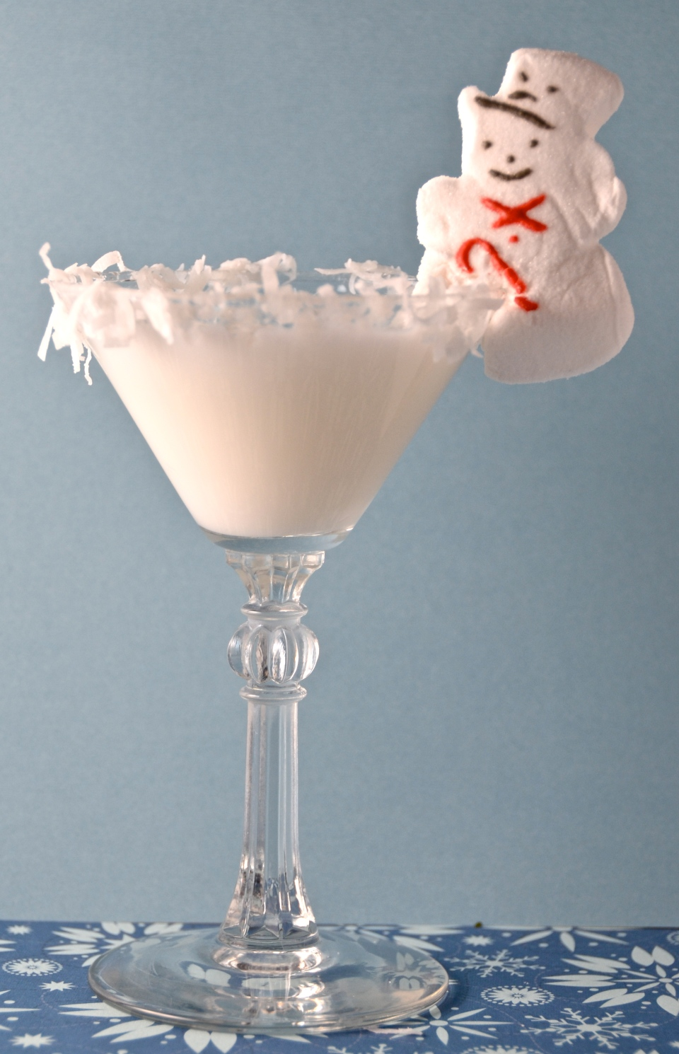 Snowy White Chocolate Cocktail
