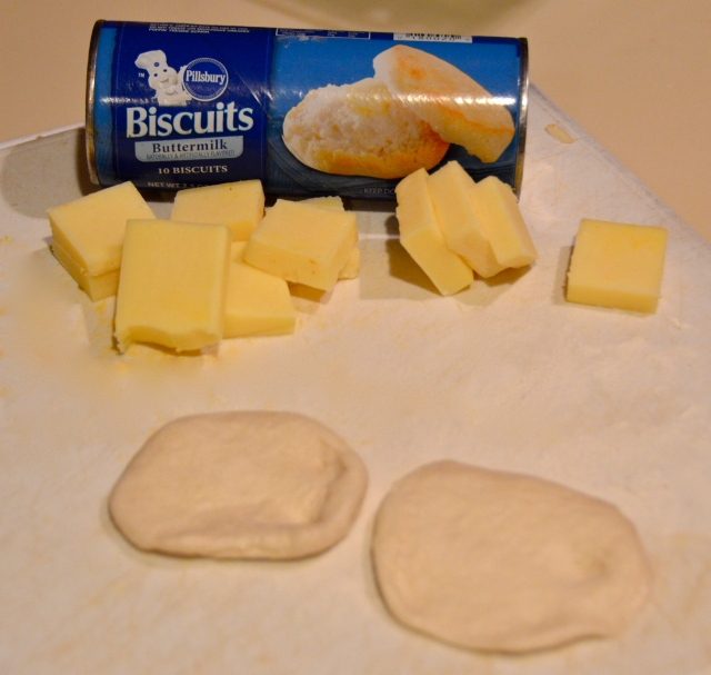 making biscuit bombs
