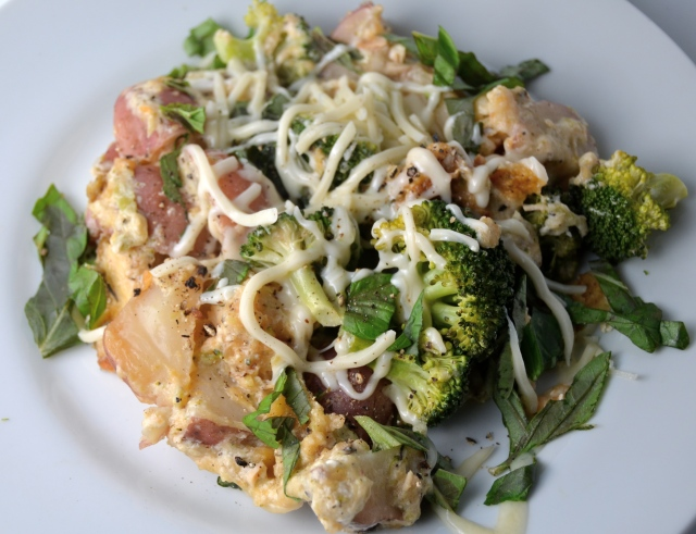 Slow Cooker New Potato, Broccoli And Chicken Casserole