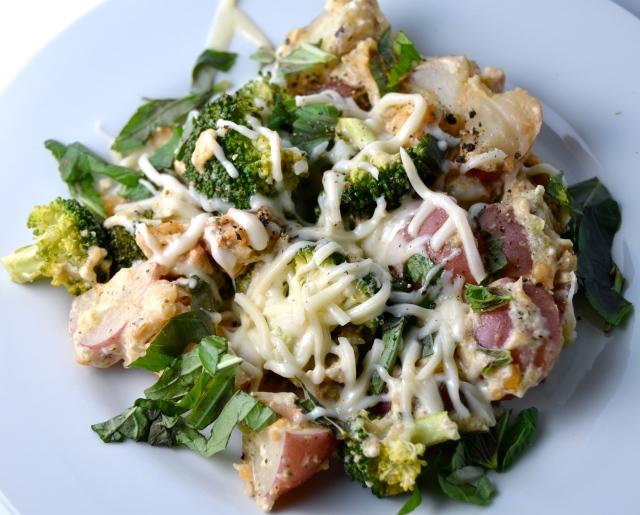 Slow Cooker New Potato, Broccoli And Chicken Casserole