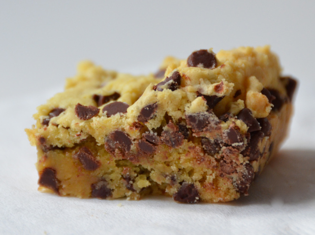 Lazy Cake Cookie Bar