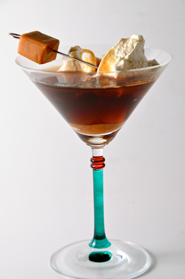 Kissing Caramel Cocktail