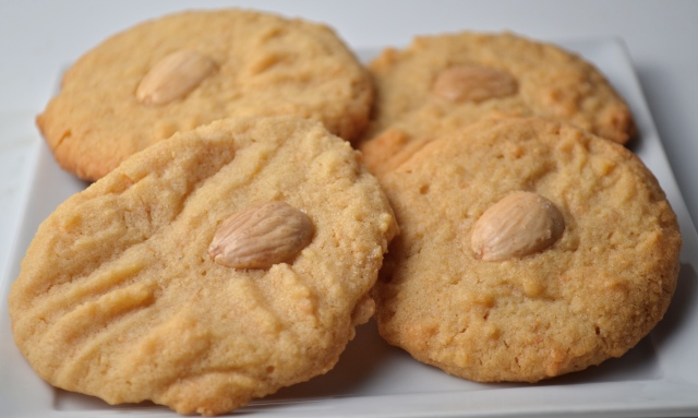 Marcona Almond Butter Cookies